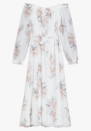 OFF SHOULDER LONG DRESS - Robe d'été - white