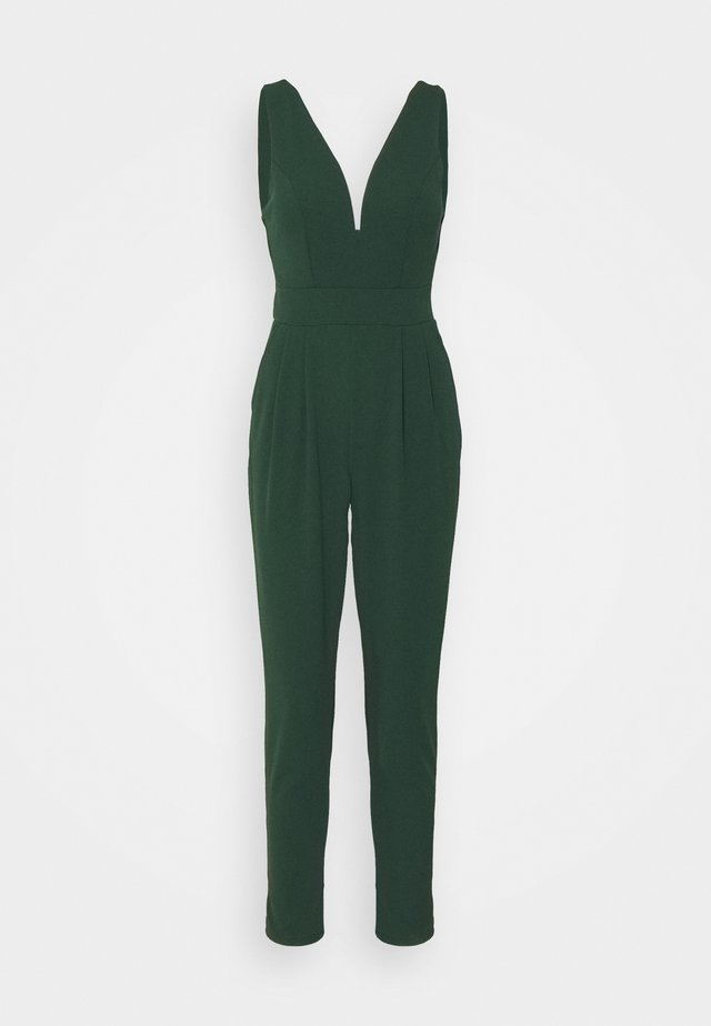 Jumpsuit - forest green