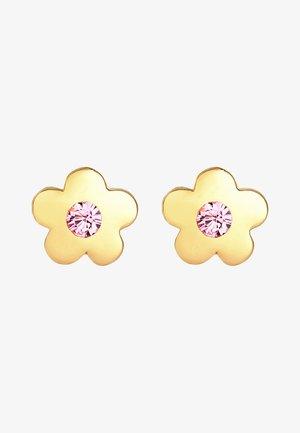 GLASS CRYSTAL - Earrings - rosa