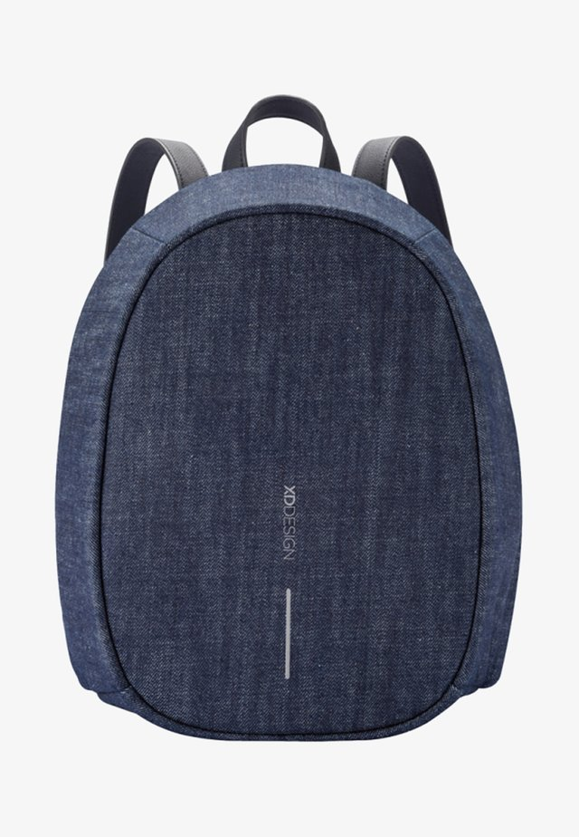 BOBBY ELLE - ANTI-DIEFSTAL - Rucksack - blue denim