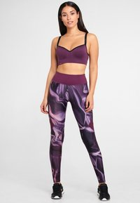 LASCANA Active - Light support sports bra - purple - 1