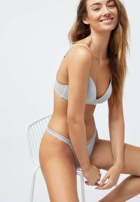 OYSHO - MICROFIBRE STRAPPY - Briefs - light blue - 3