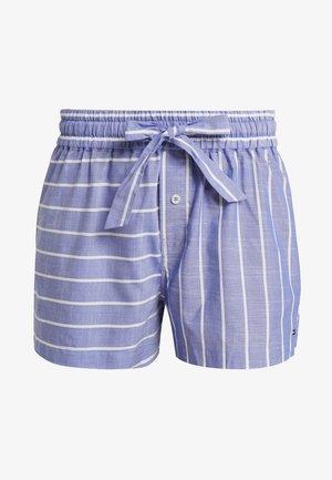 VARSITY SHORT STRIPE - Pyjama bottoms - gray dawn