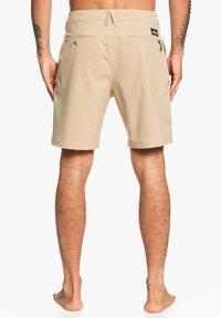Quiksilver - UNION  - Swimming shorts - beige - 2