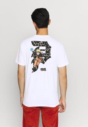 NARUTO DIRTY TEE - Print T-shirt - white