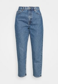 Straight leg jeans - washed blue