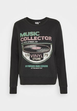 ONLLUCINDA MUSIC BOX  - Sweatshirt - black