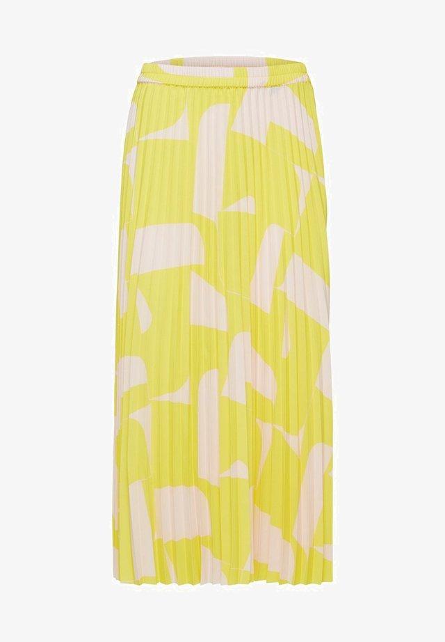 FALTEN - A-line skirt - green sheen