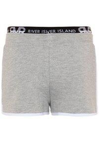 River Island - Pantaloni sportivi - grey - 1