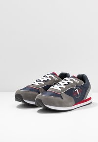Trussardi Jeans - Trainers - blue/grey/red - 2