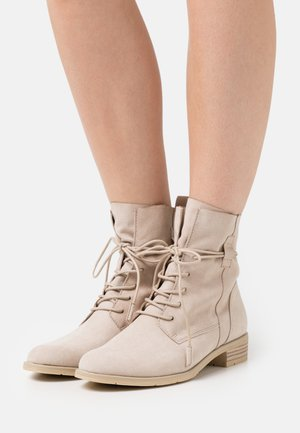 BOOTS - Lace-up ankle boots - dune