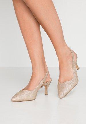 Classic heels - champagne