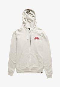 Deus Ex Machina - Zip-up sweatshirt - vintage white - 0