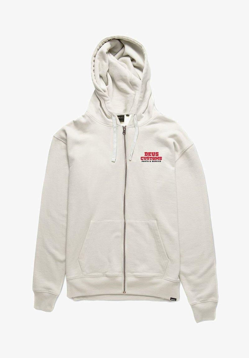 Deus Ex Machina - Zip-up sweatshirt - vintage white
