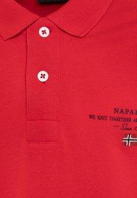 Napapijri - ELBAS - Polo shirt - bright red - 2