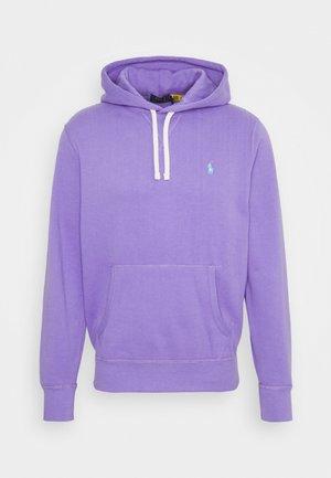 Felpa con cappuccio - hampton purple