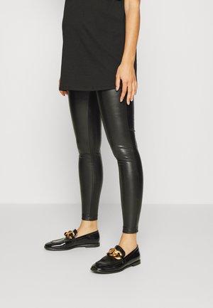 PCMFALLEN HIGH WAIST - Leggings - Trousers - black