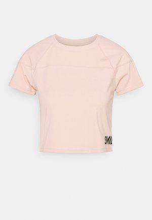 CROPPED  - Print T-shirt - rosa