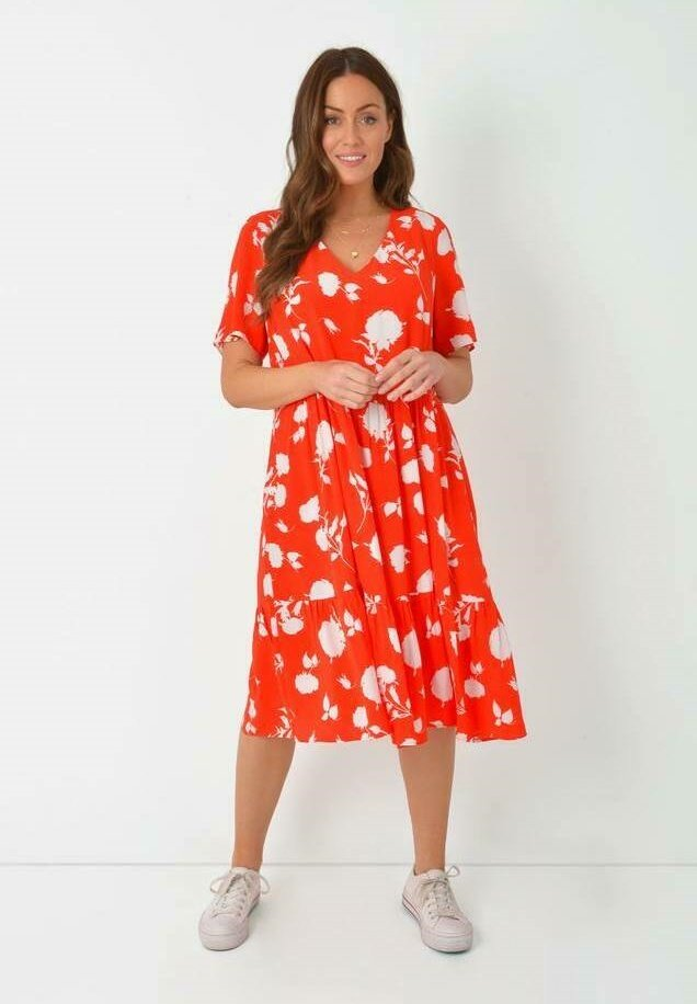 Live Unlimited London - Day dress - red