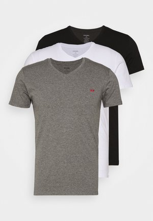 UMTEE-MICHAEL 3 PACK - Undershirt - black/white/grey