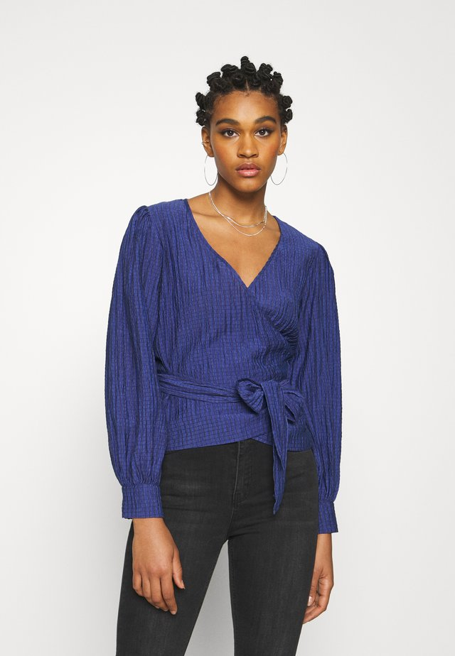 PATTI - Long sleeved top - sodalite blue