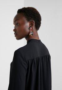 Filippa K - SHEER BUTTON BLOUSE - Button-down blouse - black - 3