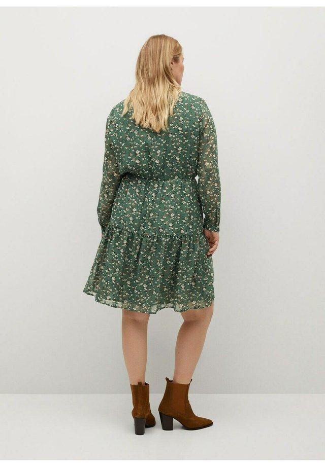 Korte jurk - grün