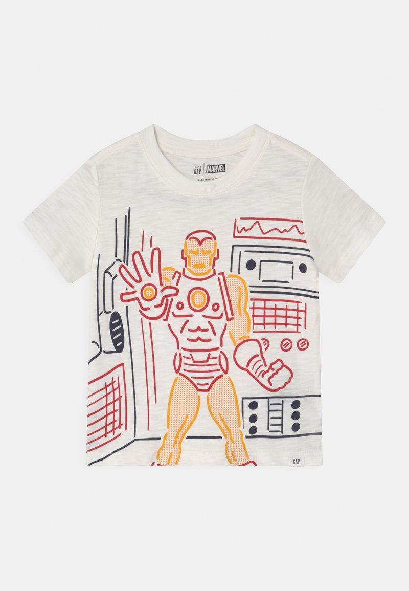 GAP - TODDLER BOY GRAPHIC - Print T-shirt - new off white