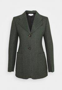 SMALL FITTED JACKET - Blazer - green melange