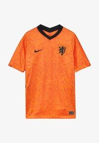Nike Performance - NIEDERLANDE KNVB Y NK BRT STAD SS HM - Oblečení národního týmu - safety orange/black - 3