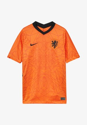 NIEDERLANDE KNVB Y NK BRT STAD SS HM - National team wear - safety orange/black