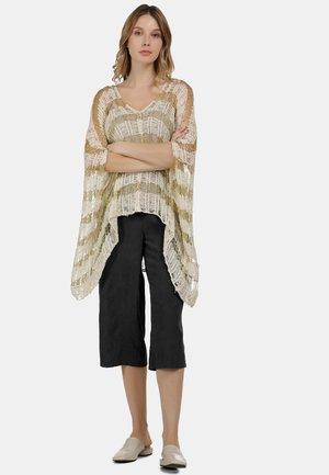 PONCHO - Cape - off-white