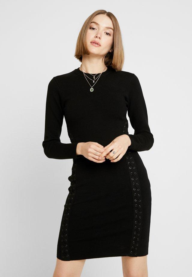 PAN - Robe fourreau - black