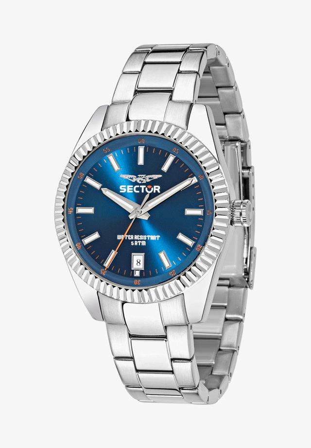 Watch - blau silber