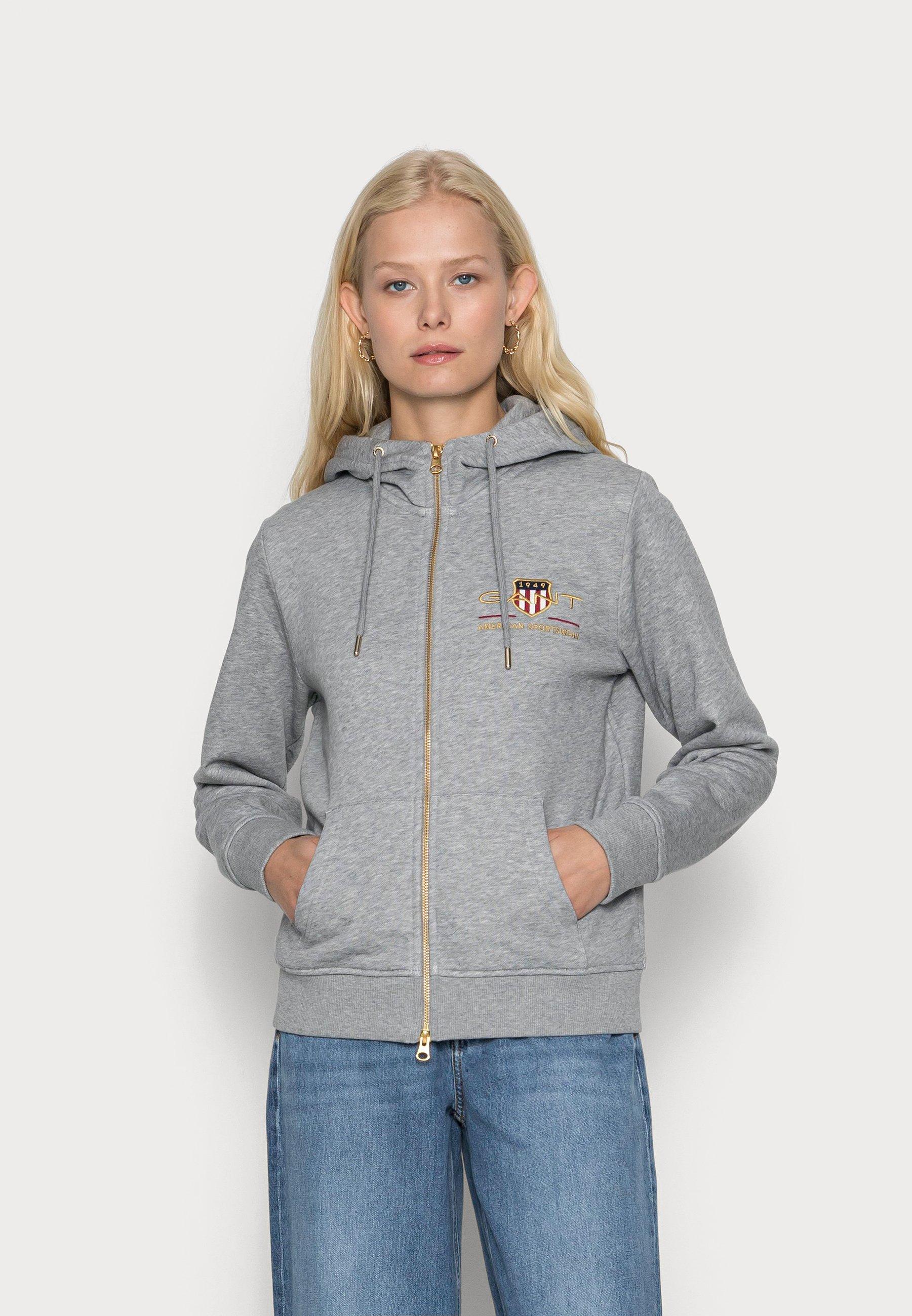 Women ARCHIVE SHIELD FULL ZIP HOODIE - Zip-up sweatshirt