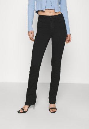 MOLLY SLIT - Jeans Slim Fit - black