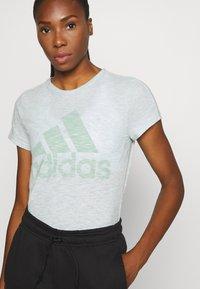 adidas Performance - WINNERS TEE - T-Shirt print - mint - 4