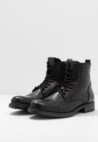Jack & Jones - JFWRUSSEL WARM  - Lace-up ankle boots - anthracite - 2