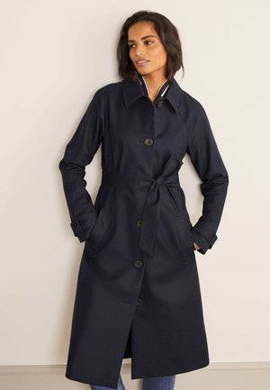 HADDON - Trenchcoat - navy