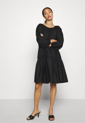 OVERSIZED DRESS - Hverdagskjoler - black