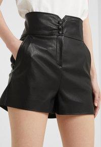 Pinko - PAREGGIARE SIM - Pantaloni di pelle - black - 4