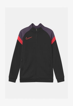 ACADEMY - Training jacket - black/siren red