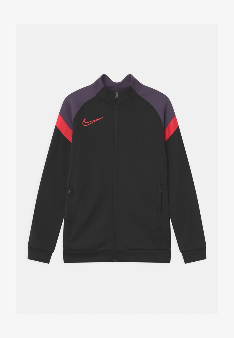Nike Performance - ACADEMY - Sportovní bunda - black/siren red