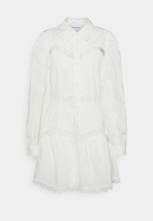 SANDRA SHORT DRESS - Abito a camicia - cream