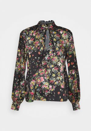 IDOL FLORAL RUFFLE YOKE BLOUSE - Bluzka - multi