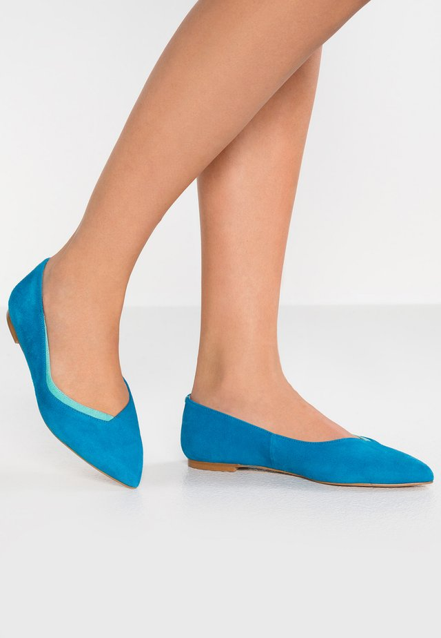 Baleriny - turquoise