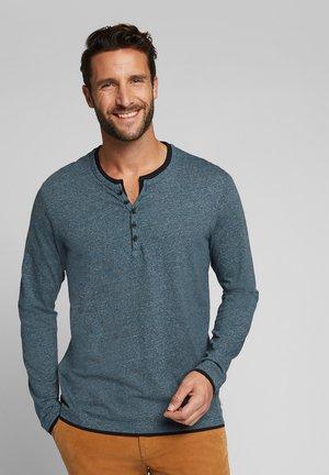 Long sleeved top - grey blue