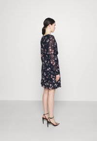 Vero Moda - VMZALLIE WRAP DRESS - Day dress - navy blazer/zallie - 2