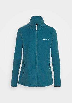 WOMENS ROSEMOOR JACKET - Fleecová bunda - blue gray