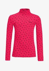 WE Fashion - ROLNEK - Long sleeved top - pink - 0